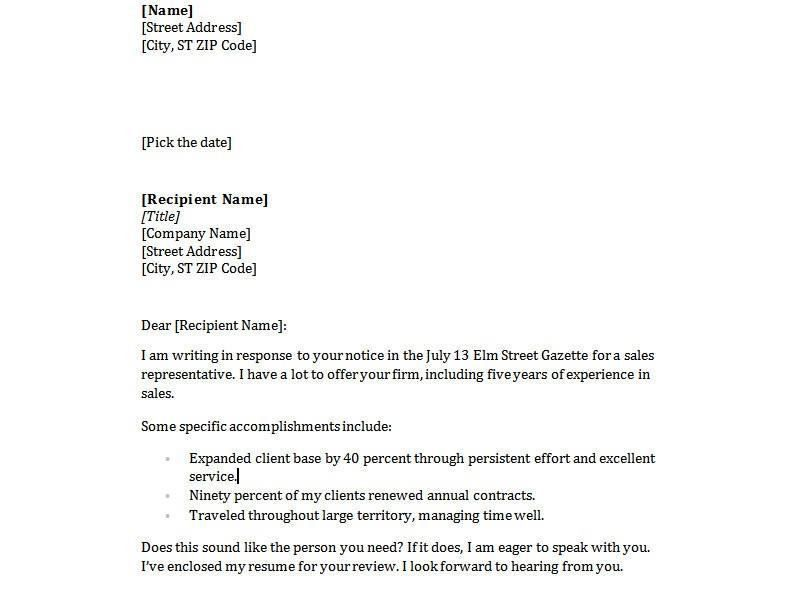 Email Cover Letter Sample For Resume Good Example Of A Resume - cover letters with resume