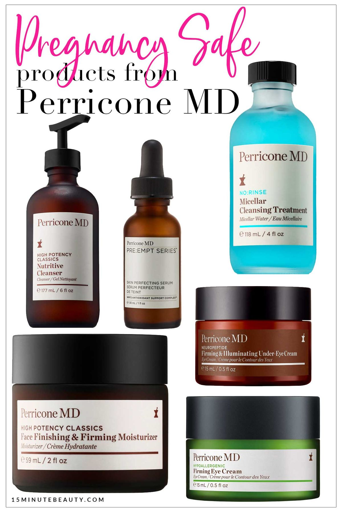 Is Perricone MD safe for pregnancy or nursing?