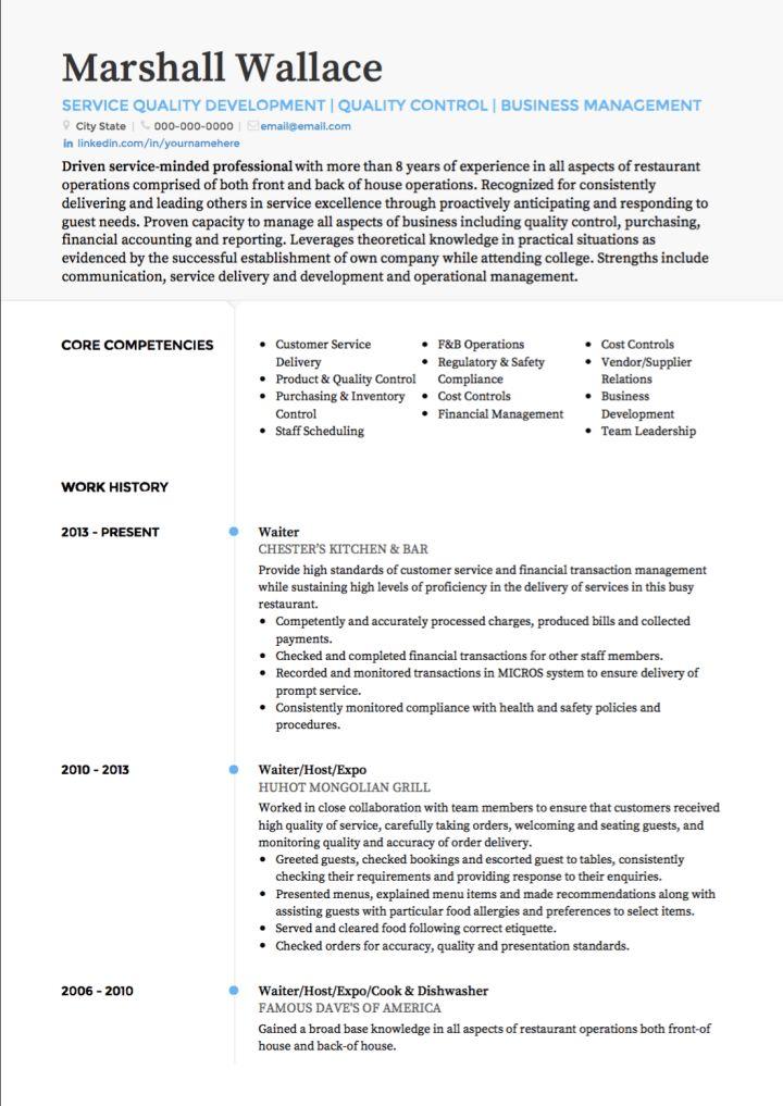 lane server job seeking tips catering server resume samples - server resume examples