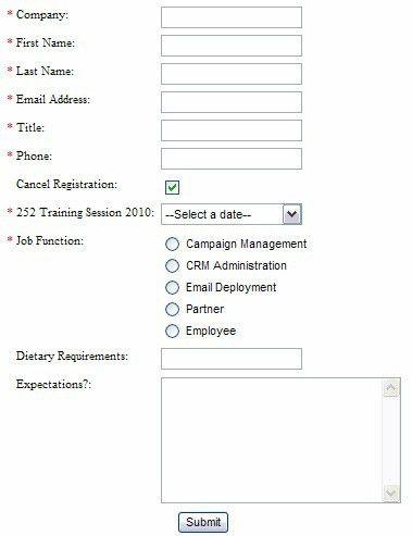 Feedback form - seminar feedback form