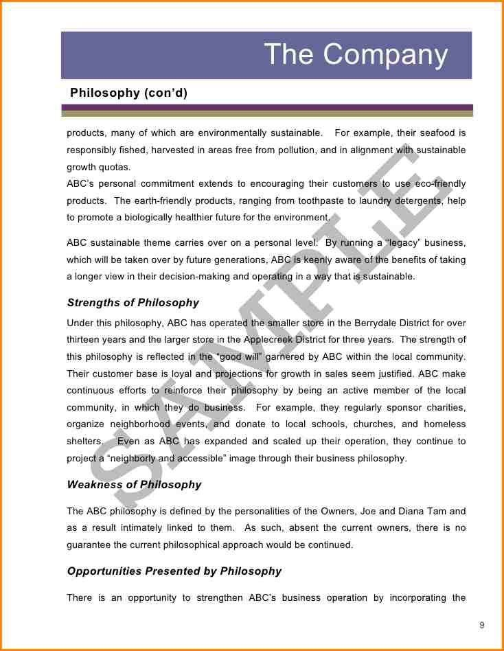 Formal Business Report Example company report sample - formal business report sample