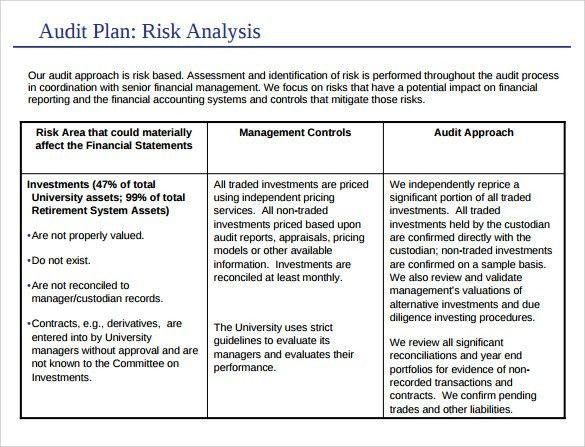 Sample Internal Audit Report Template 14 Internal Audit Report - audit template word