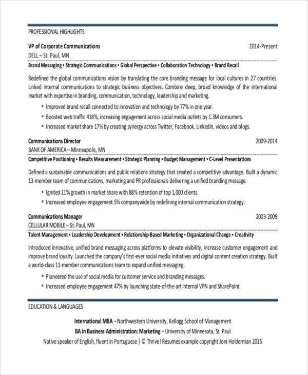 corporate communications cover letter | node2003-cvresume ...