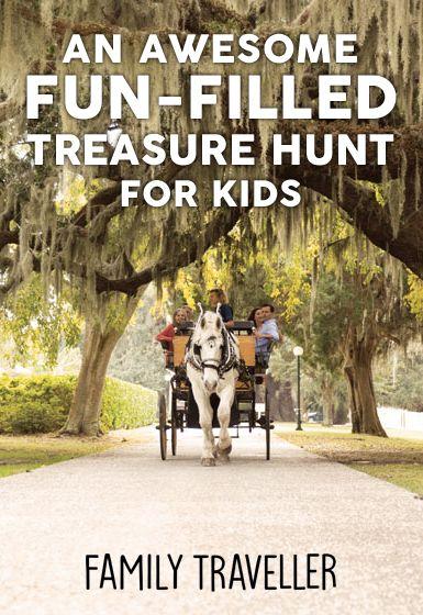A Fun-Filled Treasure Hunt for Kids on St. Simons Island