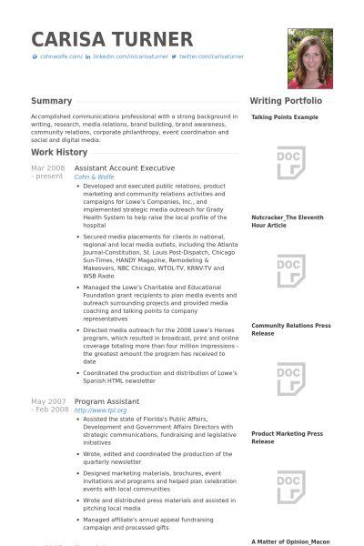 Account Executive Resume Samples Account Executive Resume Example