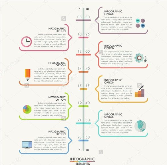 Infographic Template Word Infographic Ideas Infographic Template - timeline template word