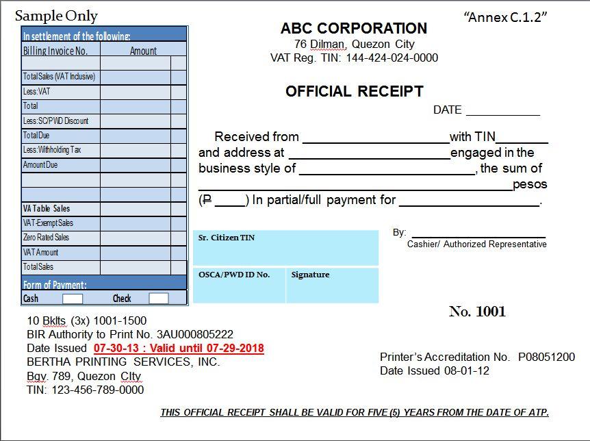 official receipt template word | node2002-cvresume.paasprovider.com