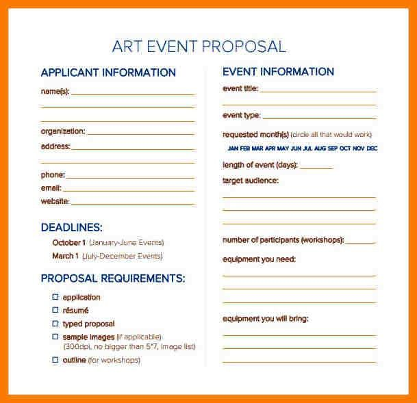 Sample Event Proposal Event Proposal Template 12 Free Sample - event proposal template doc