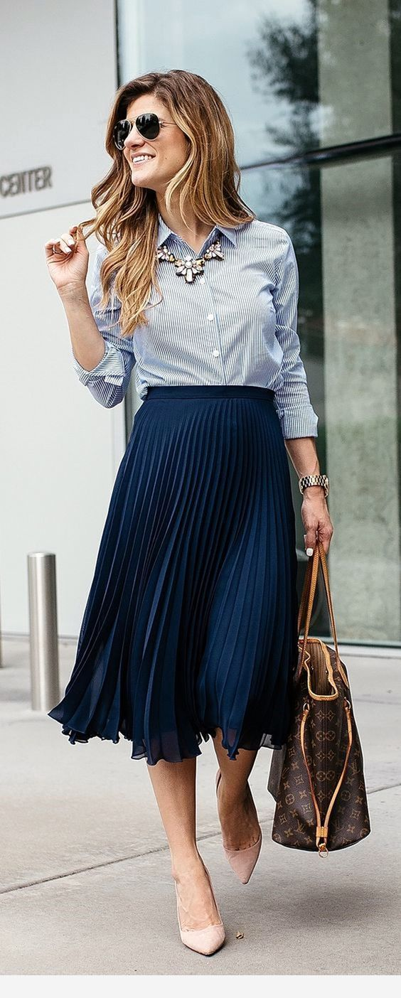 Lady outfit with a nice combination