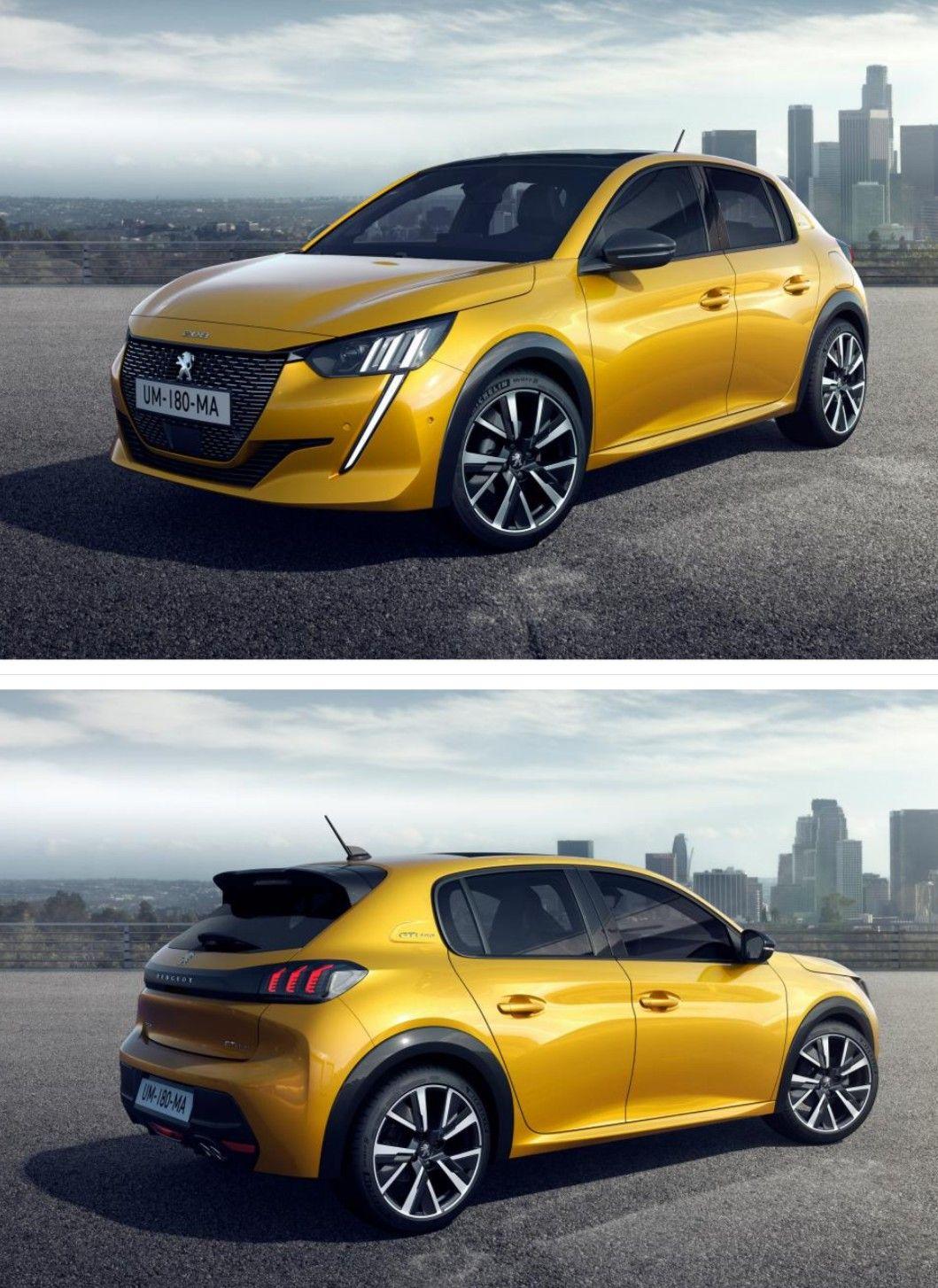 The New 2019 Peugeot 208 Vehicule De Luxe Voiture