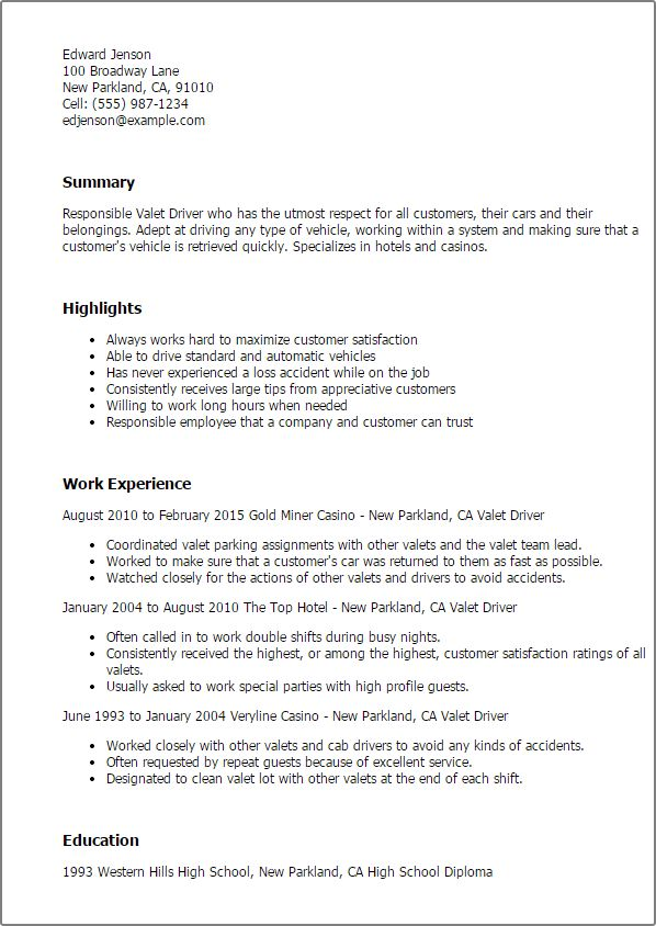 Hotshot Driver Jobs Resume Examples] Hotshot Driver Jobs ...