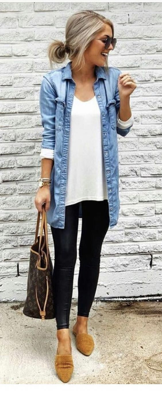 Casual outfit with basics