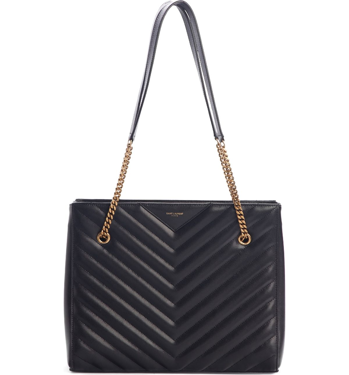Medium Tribeca Quilted Calfskin Leather Tote