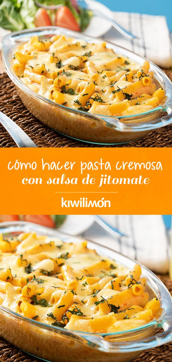 Cómo Hacer Pasta Cremosa con Salsa de Jitomate