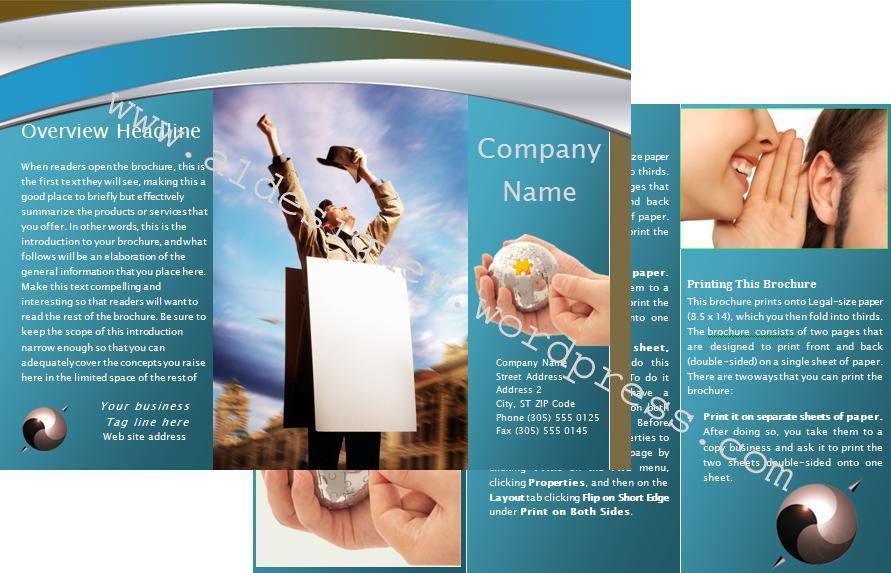 Microsoft Brochure Templates Free Download Free Brochure Template - brochure template free download microsoft word