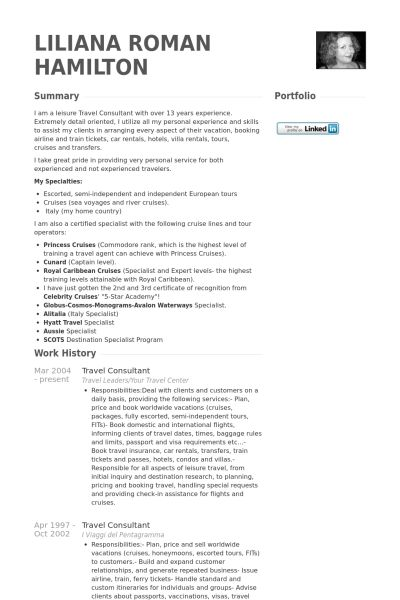Sample Travel Agent Resume Agent Resume Agent Resume Example