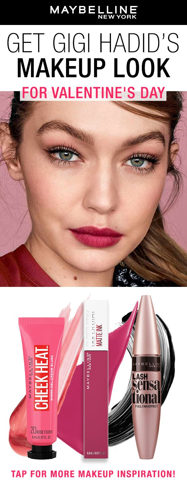 How To Get Gigi Hadid's Valentine's Day Makeup Look