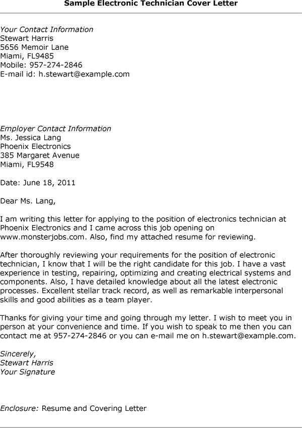 Electronic Technician Resume] Electronics Resume Template 8 ...