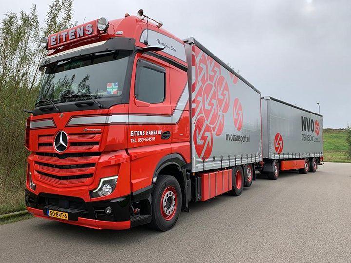 Transport Online - Spiegelloze Mercedes-Benz combi voor Eitens Haren