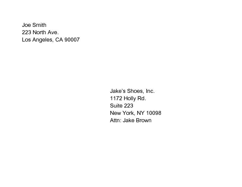 resume envelope format - Onwebioinnovate - resume envelope format