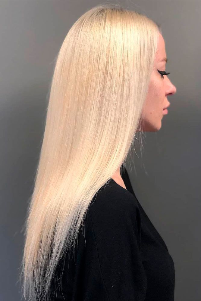 Blonde Straight Hair Style #blondehair #sleekhairstyles ★ Explore tips on how to get straight hair. Our tips will work for short, medium, and long haircuts. Enhance the natural texture. #glaminati #lifestyle #straighthair