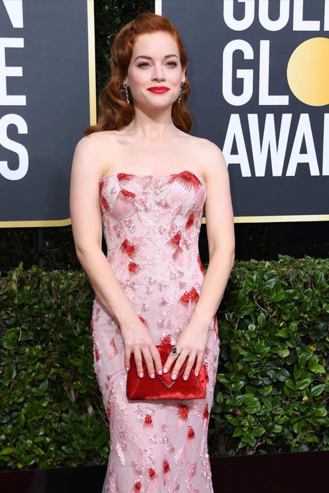 Jane Clevy Wears Atelier Swarovski at the 2020 Golden Globes