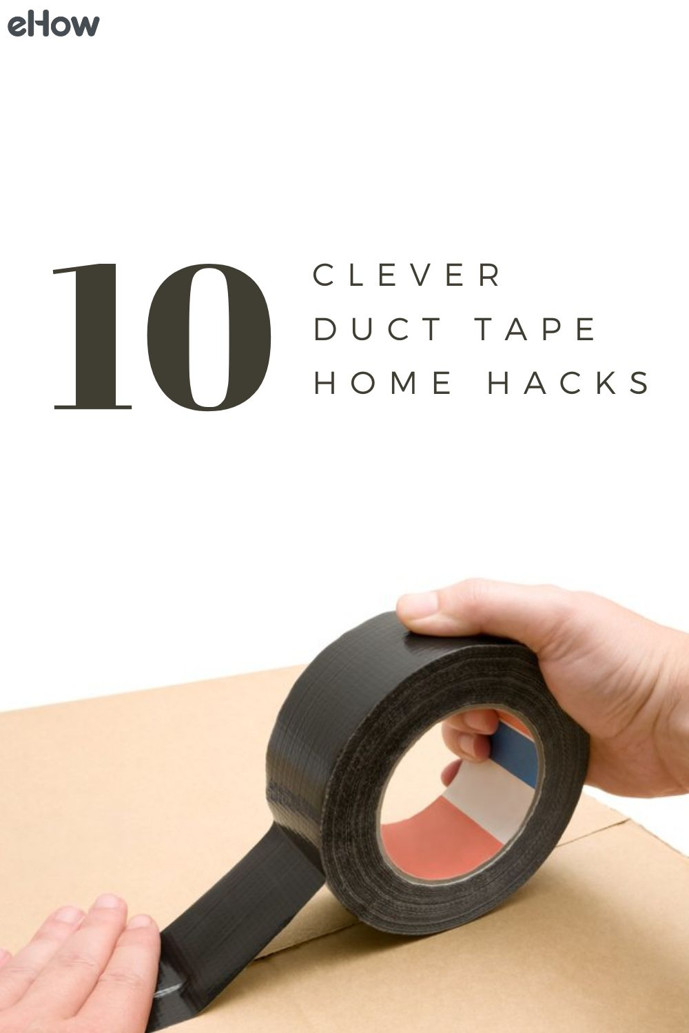 10 Clever Duct Tape Home Hacks