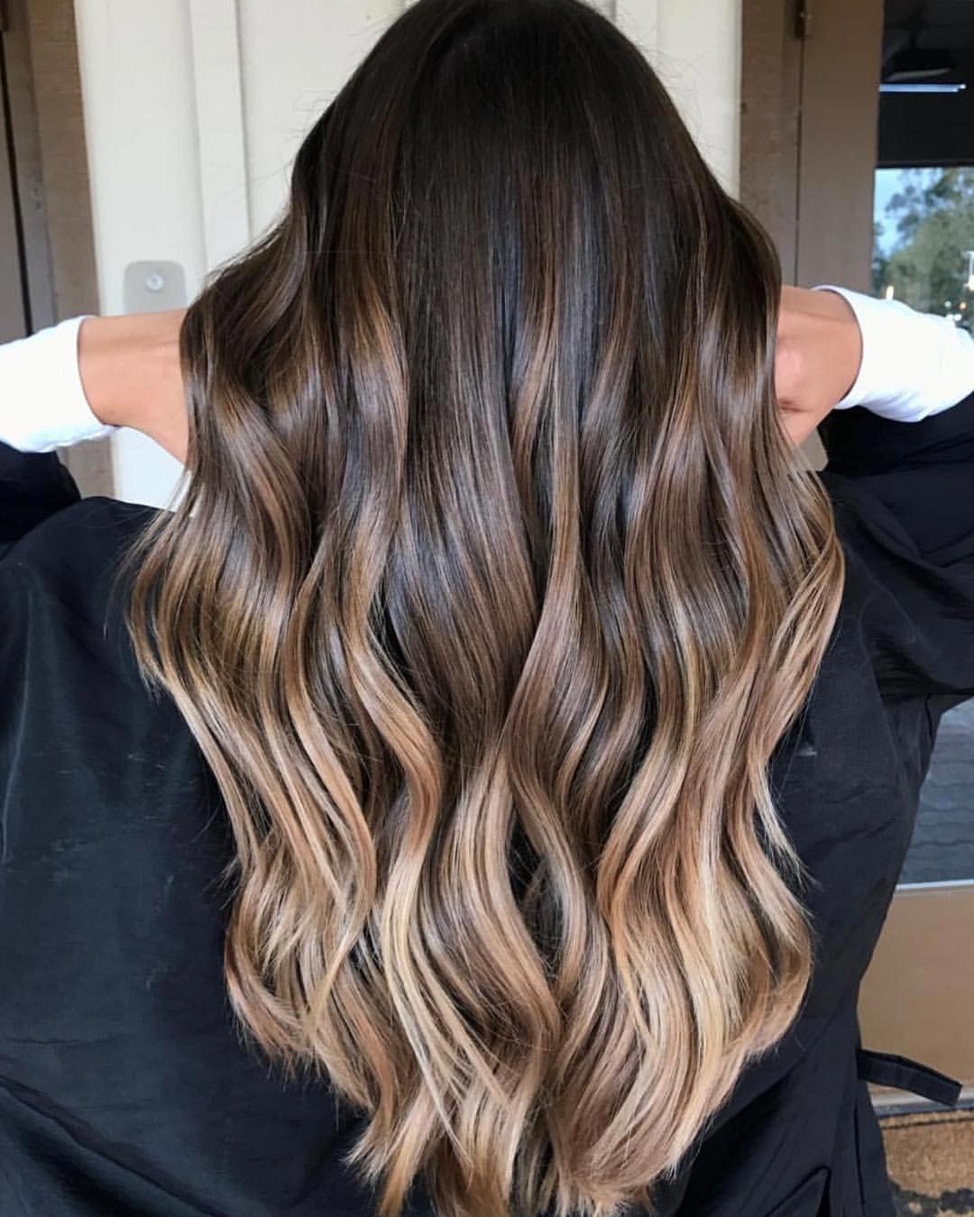A Personal Favorite of 2017! By @hair_by_bailey_ #bestofbalayage #showmethebalayage #brunettehair
