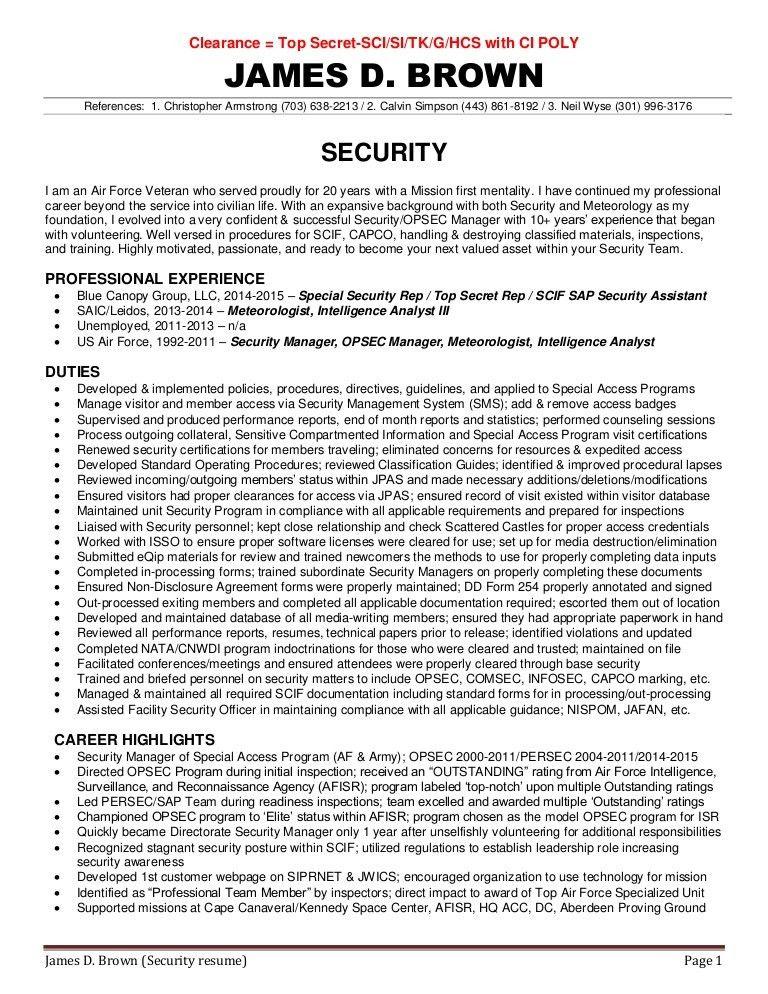 Sap Security Resume oakandale