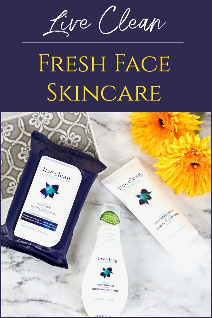Simple, Effective, Affordable Skincare from Live Clean Fresh Face