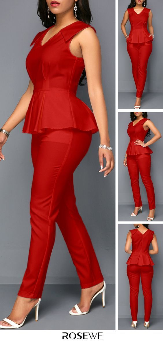 Chic all red style