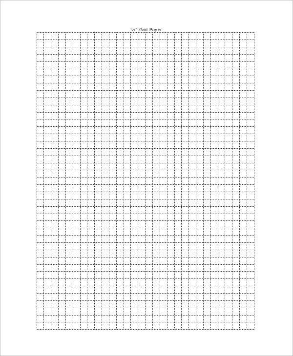 blank grid paper