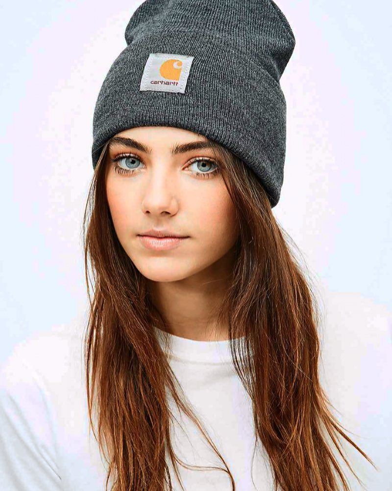 30+ Cute Girls Wearing Beanies Gif