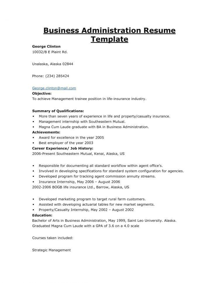 Loss Prevention Resume Objective Unforgettable Loss Prevention - business administration resume objective