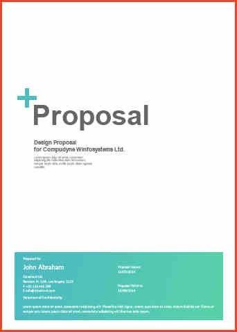 Web Design Proposal Templates Sample Web Design Proposal Template - website proposal template