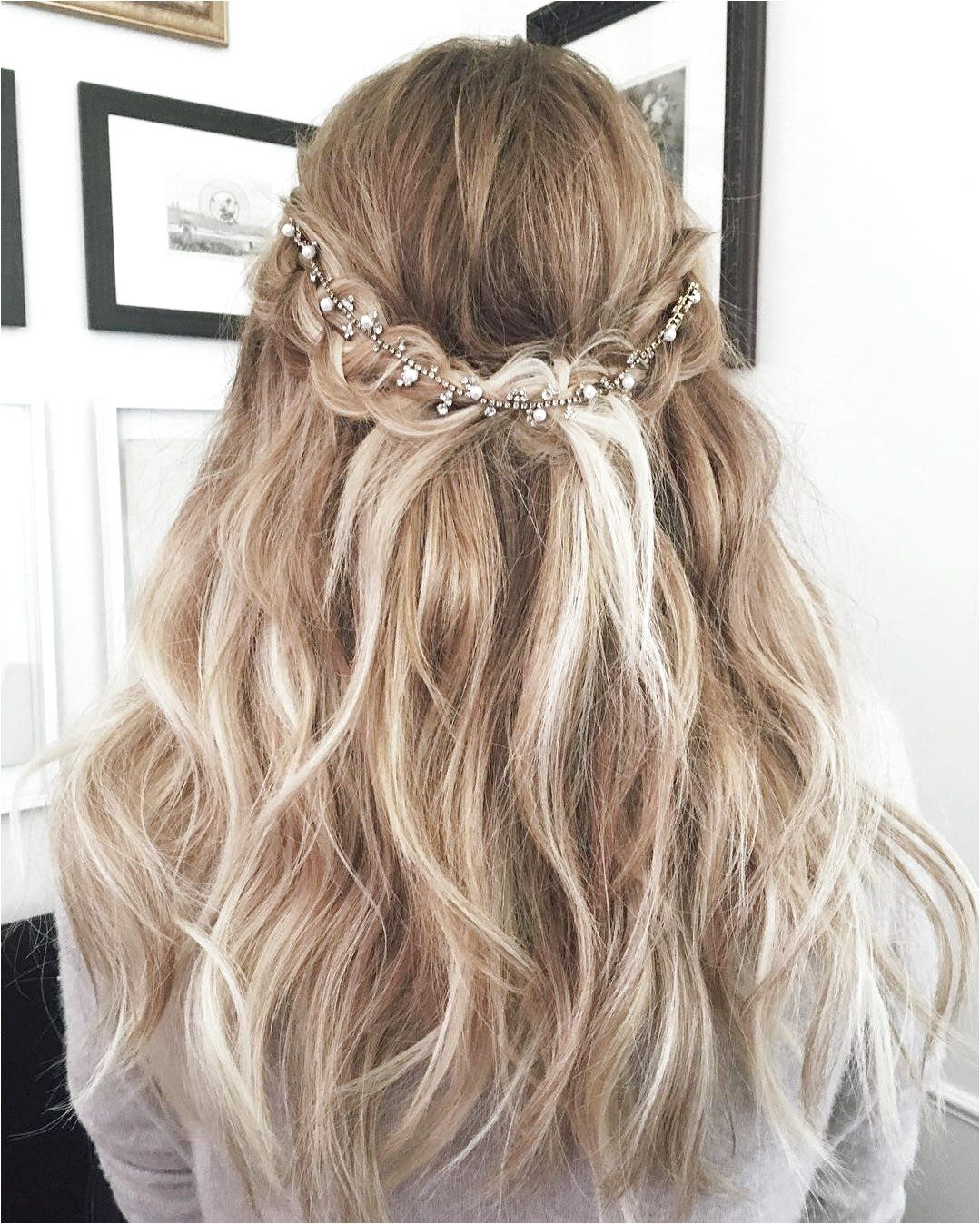 Lauren Conrad Wore the Most Perfect Wedding Hairstyle Ever Brit Co #WavyHairstyles Click to See More…