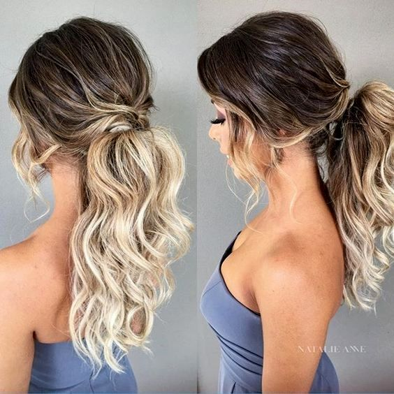 Bridesmaid Hair Casual