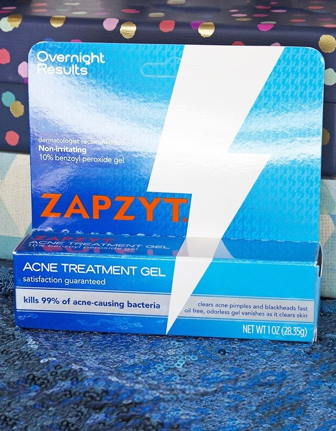 Zapzyt Acne Treatment Gel Blue Skincare Favorites from The Color Edit Series including cleansers, masks, & acne treatment on All Things Beautiful XO