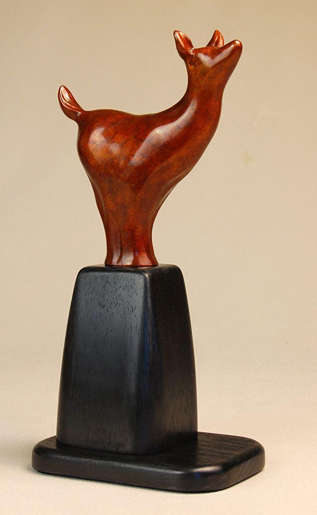 Serenidade. Bronze. Gary Alsum (escultor americano).