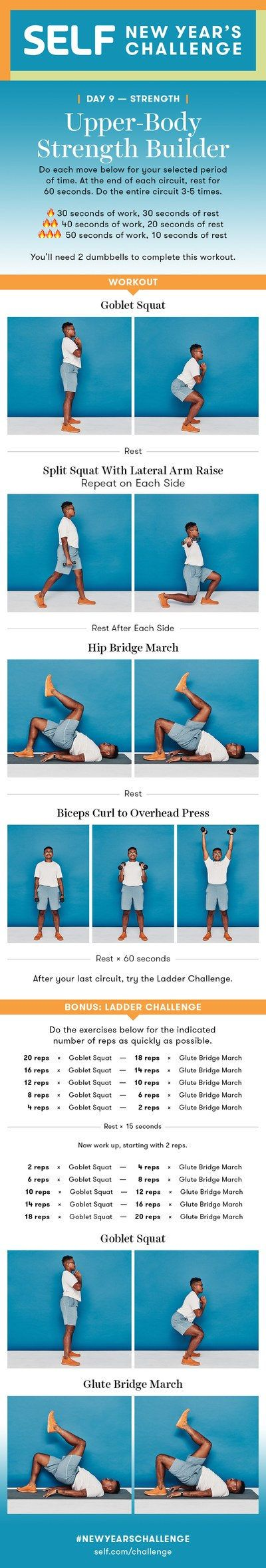 A 4-Move Lower-Body Strength Workout
