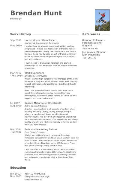 bicycle repair sample resume mechanic resume examples technical