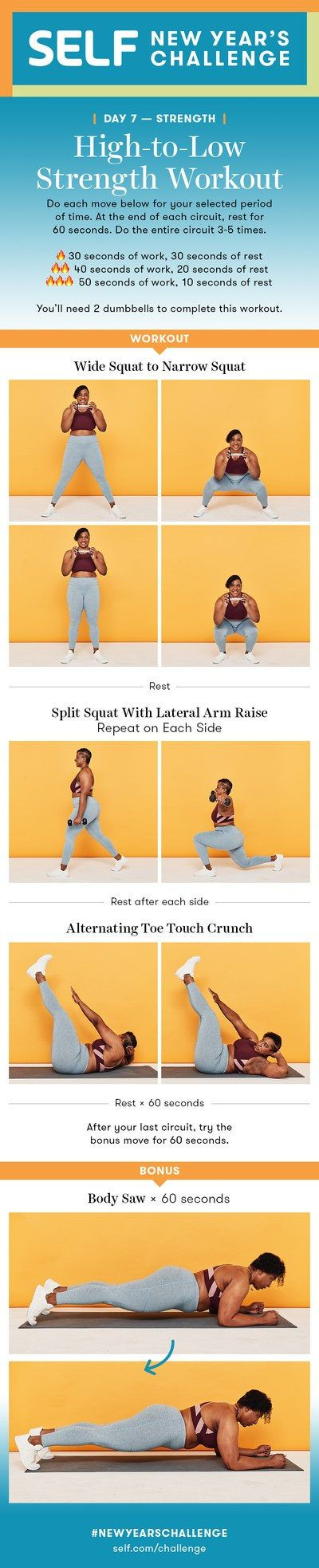 3-Move Lower Body Dumbbell Workout