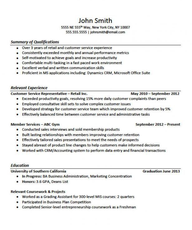 Resume Graphic Designer Sample Graphic Design Resume Sample - sample resume for customer service rep