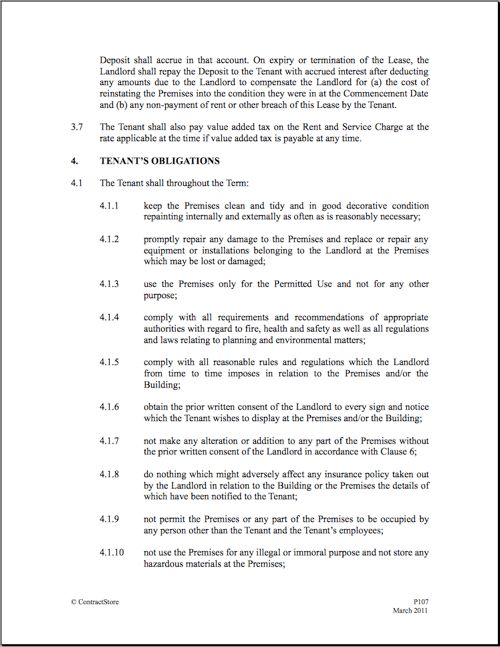 Commercial Lease Templates 13 Commercial Lease Agreement - sample commercial lease agreement