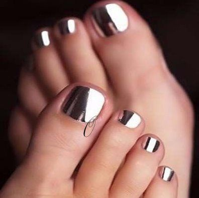 Newest chrome nail art designs 2019 – top 77 design – Our Nail