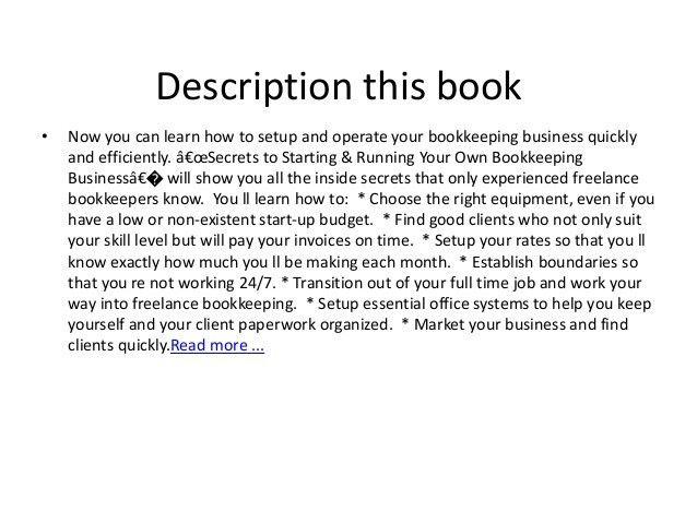 freelance book keeper freelance bookkeeper bookkeeping resume