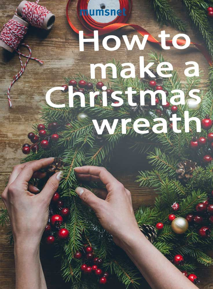 Get your family together for some festive crafts. Check out our handy guide, plus a step-by-step video, on how to make a Christmas wreath.