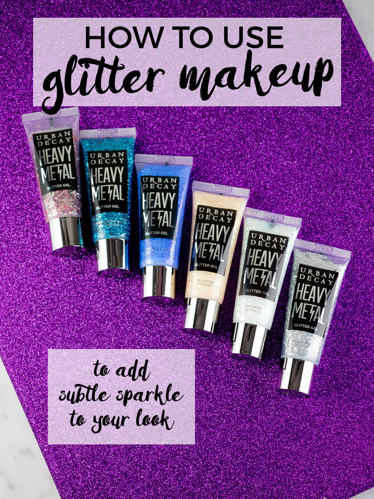 How to Use Glitter Makeup to Add Subtle Sparkle to Your Look