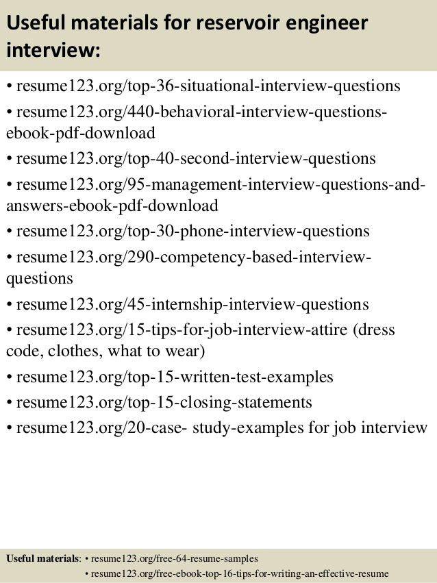 Superior Petroleum Engineering Resume. Sample Resume For Oil And Gas .