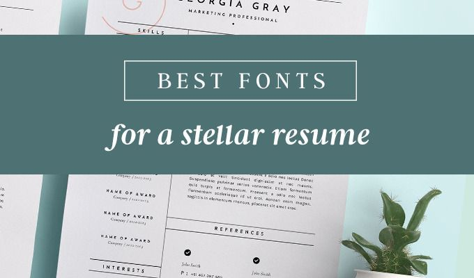 Learn how to choose the best fonts for truly memorable resumes that are legible and readable.